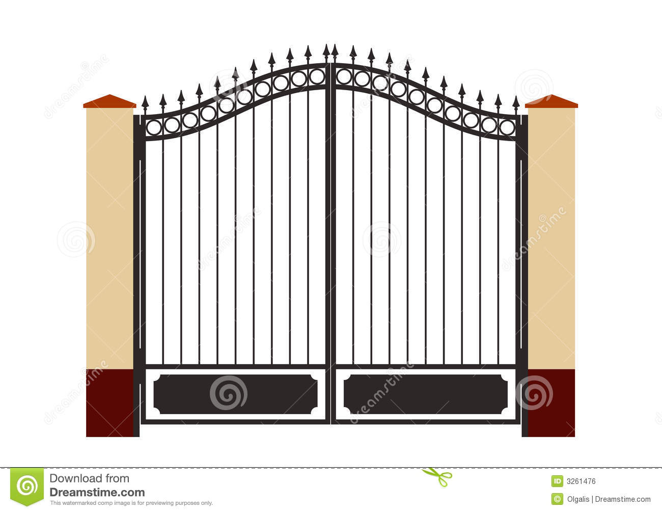 The gate clipart clipground