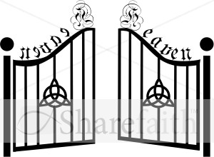 Gate clipart black and white 8 » Clipart Station.