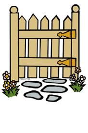 gate clipart for kids.
