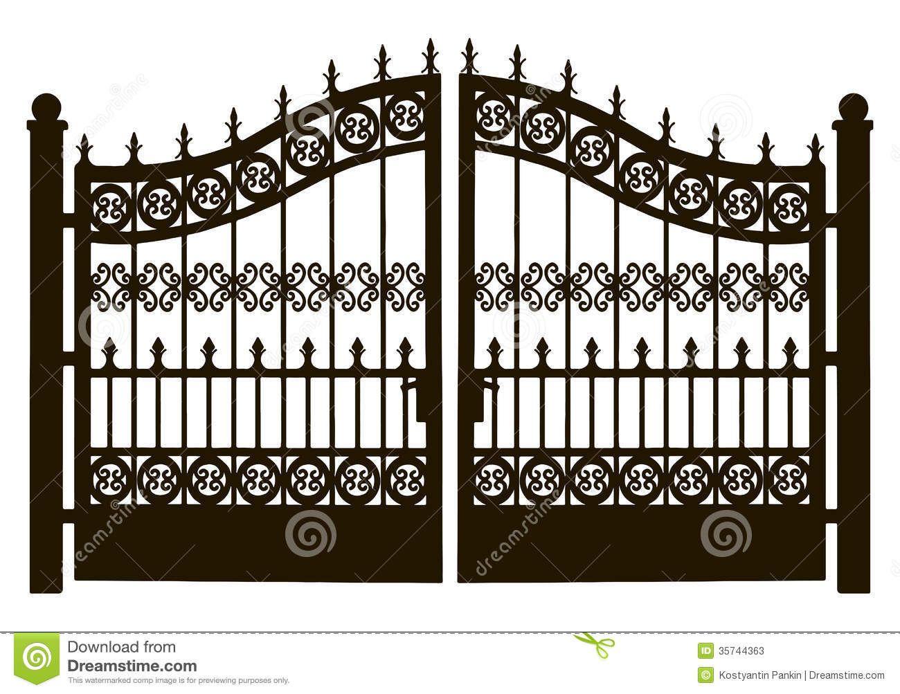 Main Gate Clipart.