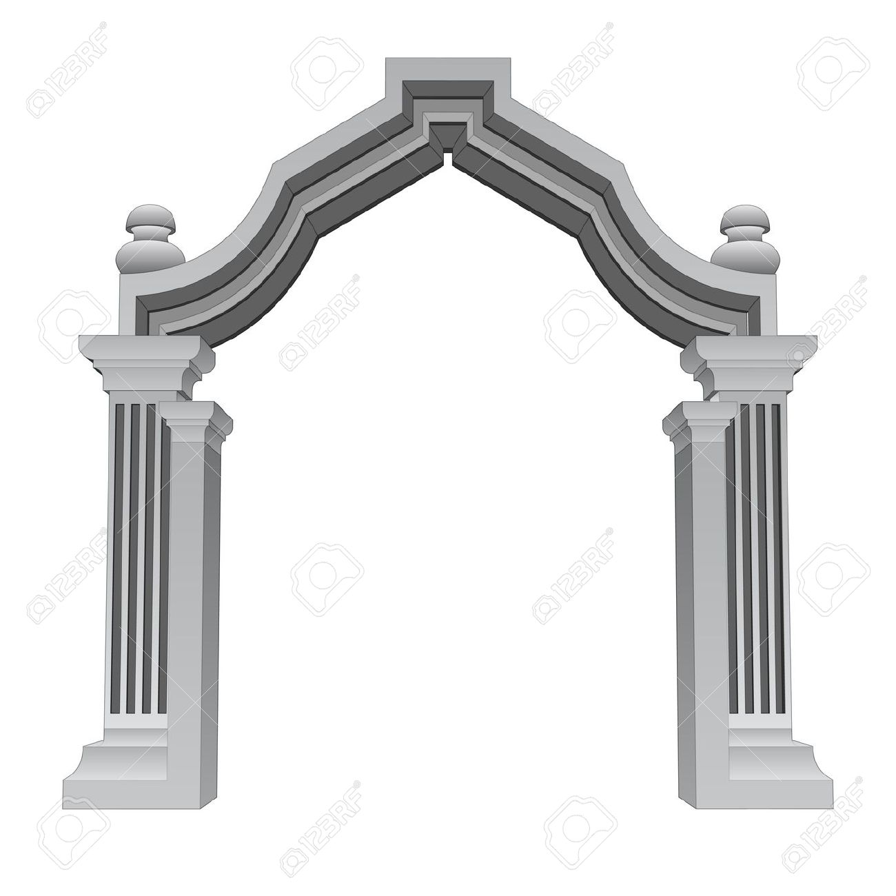 Stone Entrance Clipart Clipground