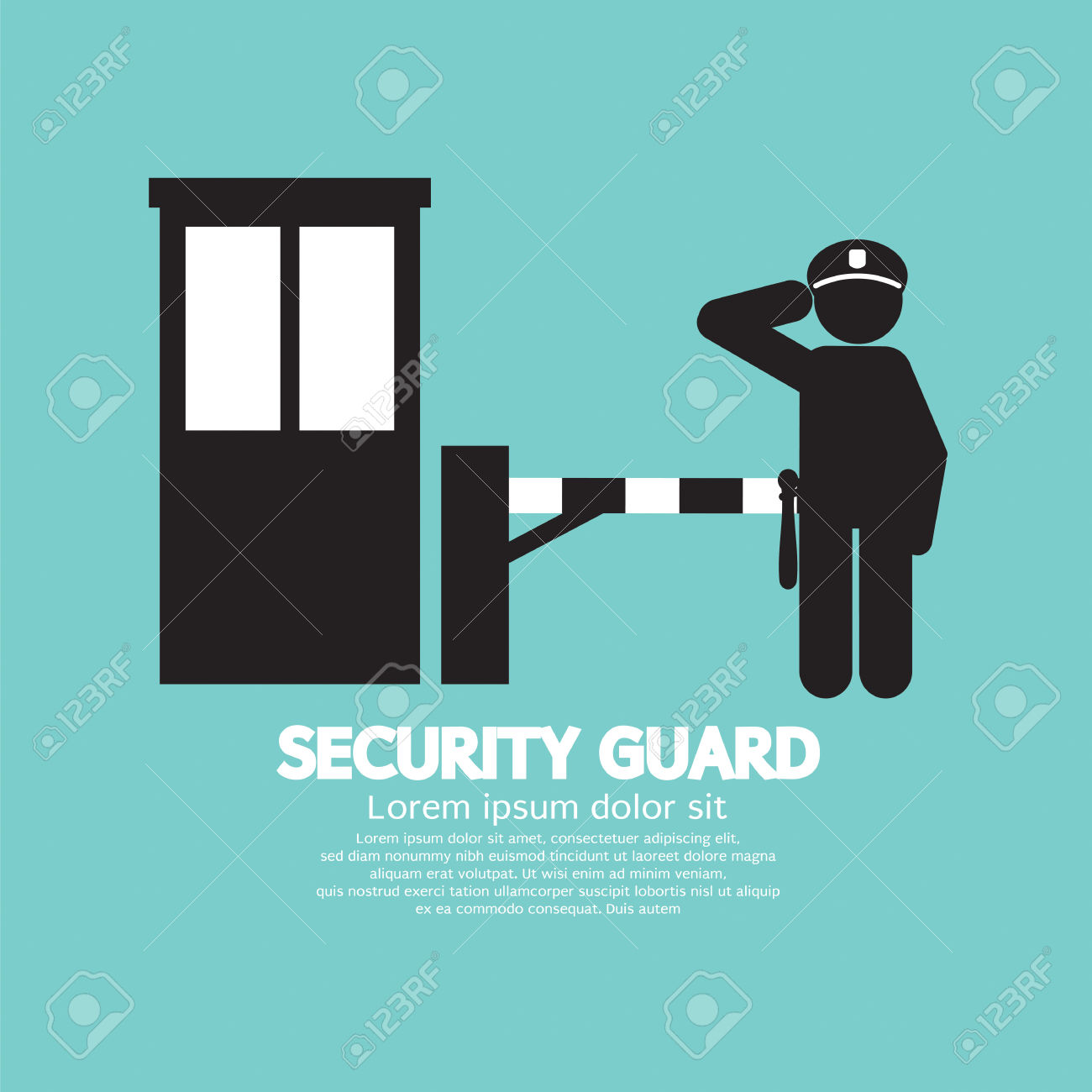 Gate guard clipart clipground