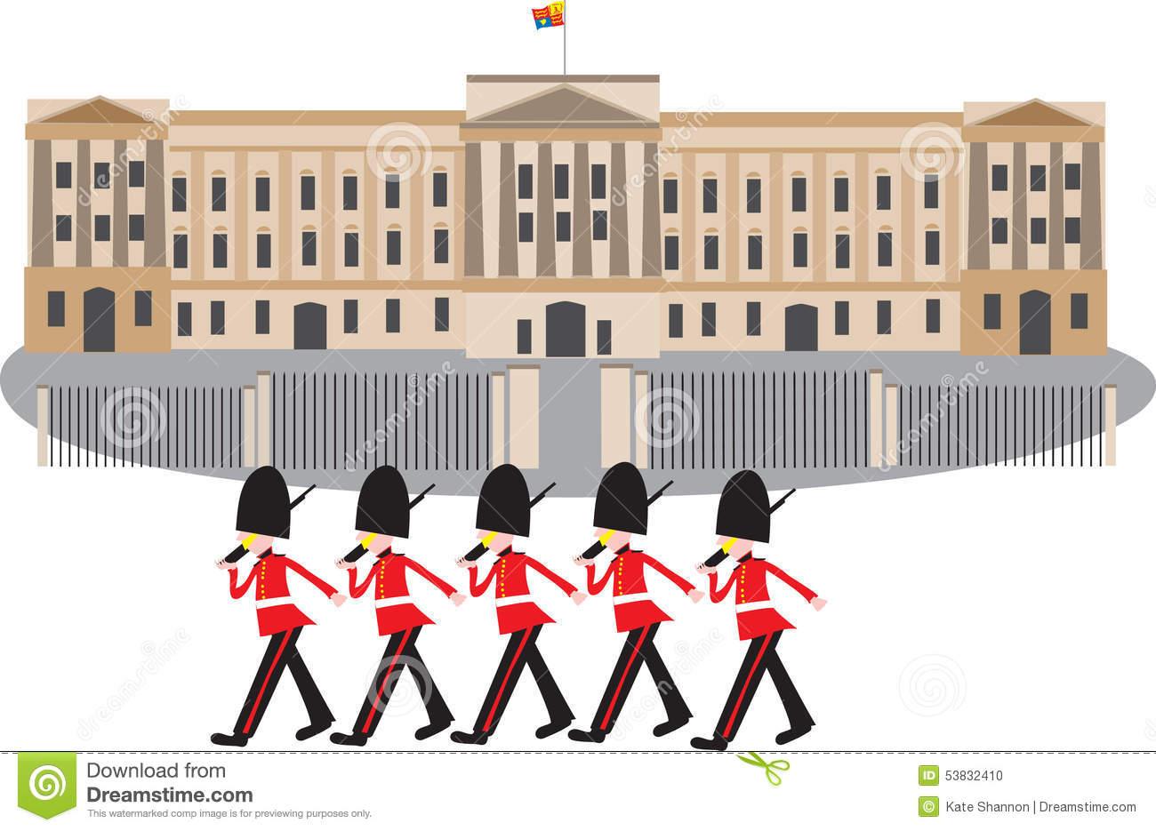 Guards Stock Illustrations.