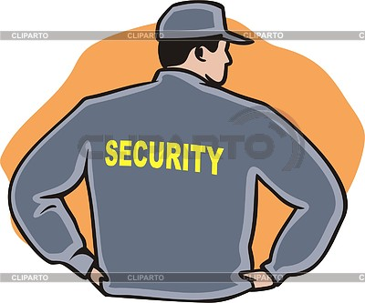 Indian security guard clipart.