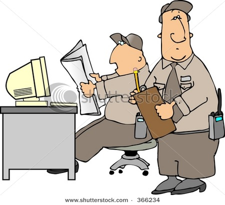 Gallery For > Gate Security Guard Clipart.
