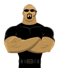 Security guard clipart png.