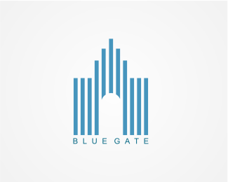 Blue Gate Logo Designed by danoen.