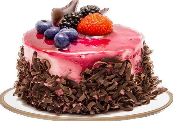 Gâteau aux fruits : tube png.