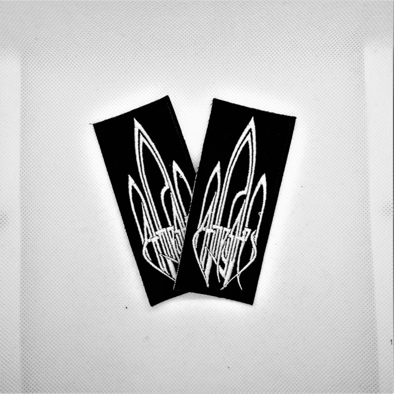 At the gates logo patch.