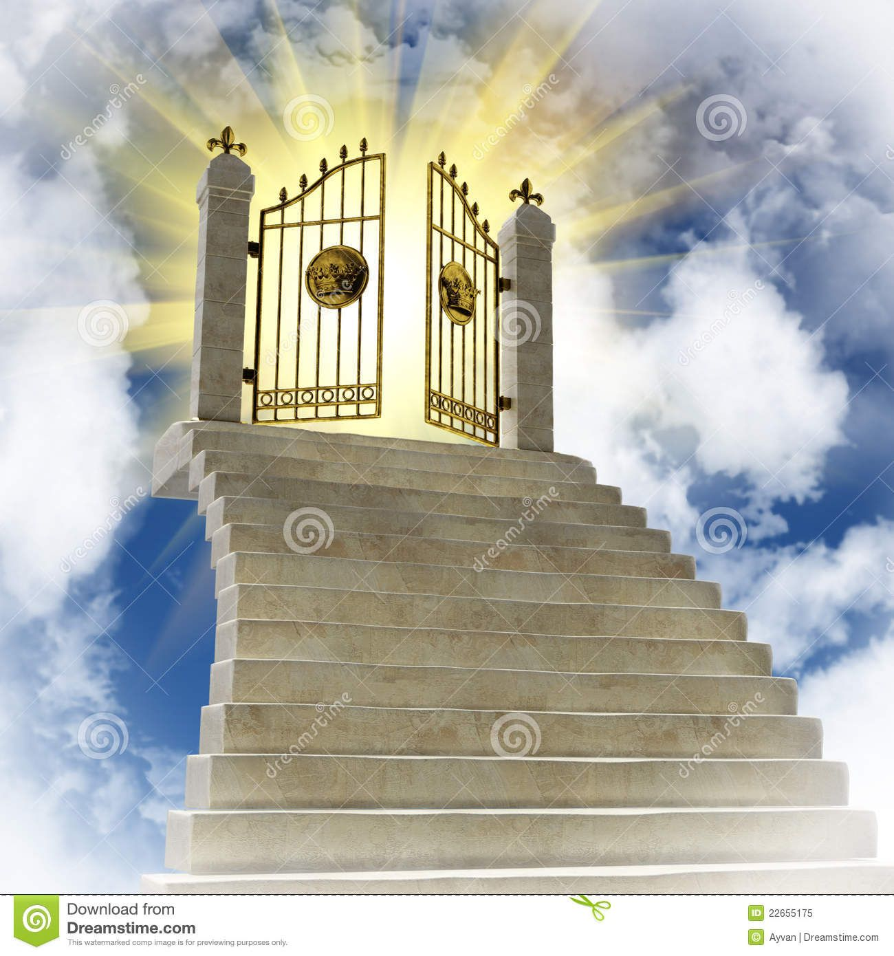 Pearly Gates Of Heaven Clipart The Gates Of Paradise In.