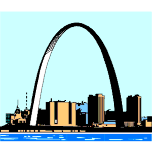 Gateway Arch 1 clipart, cliparts of Gateway Arch 1 free download.