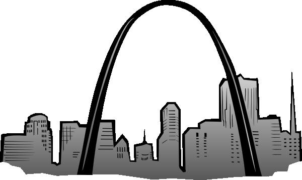 St Louis Gateway Arch Clip Art at Clker.com.