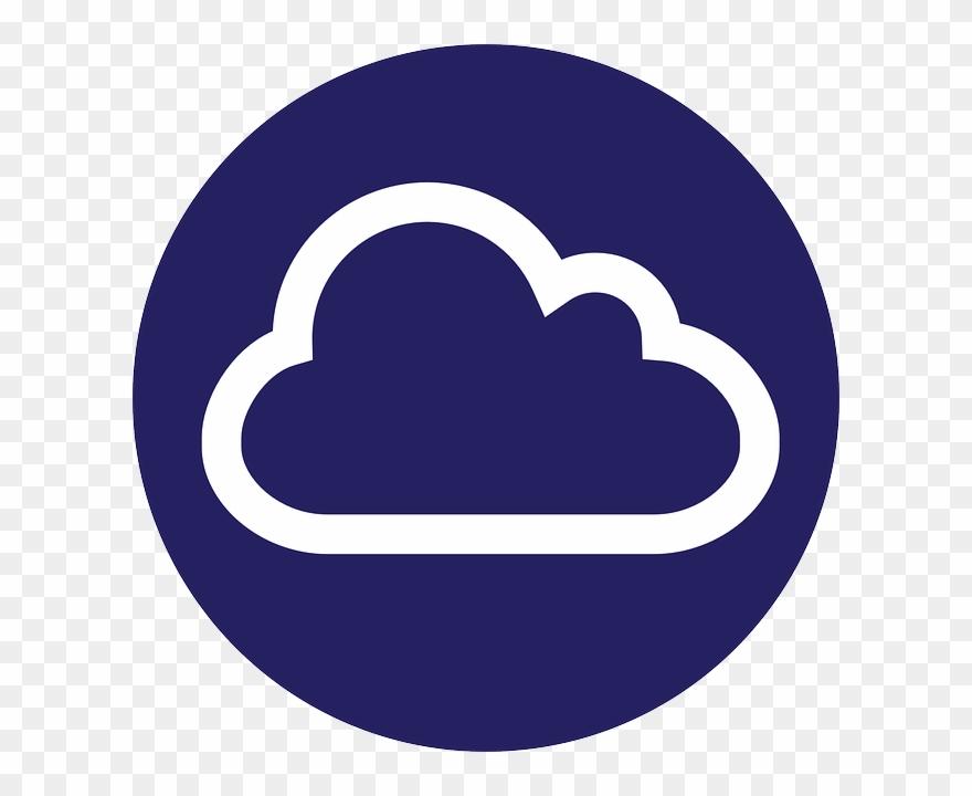 Cloud Symbol Gateway Internet Circle Roundinternet.