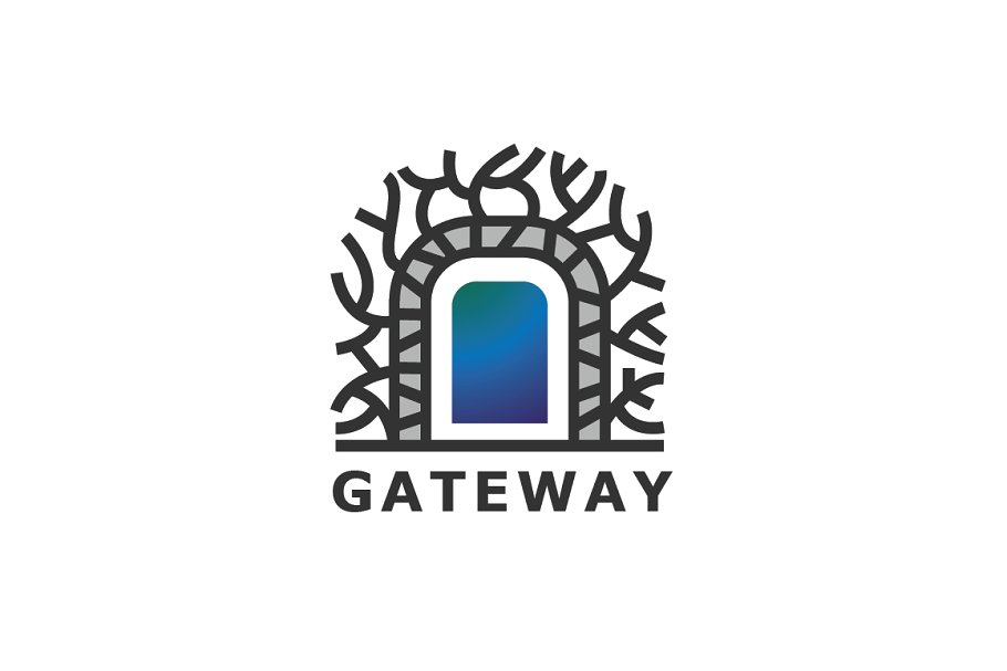 Tree Gateway Logo Template.