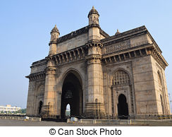 Stock Photography of Gateway of India.