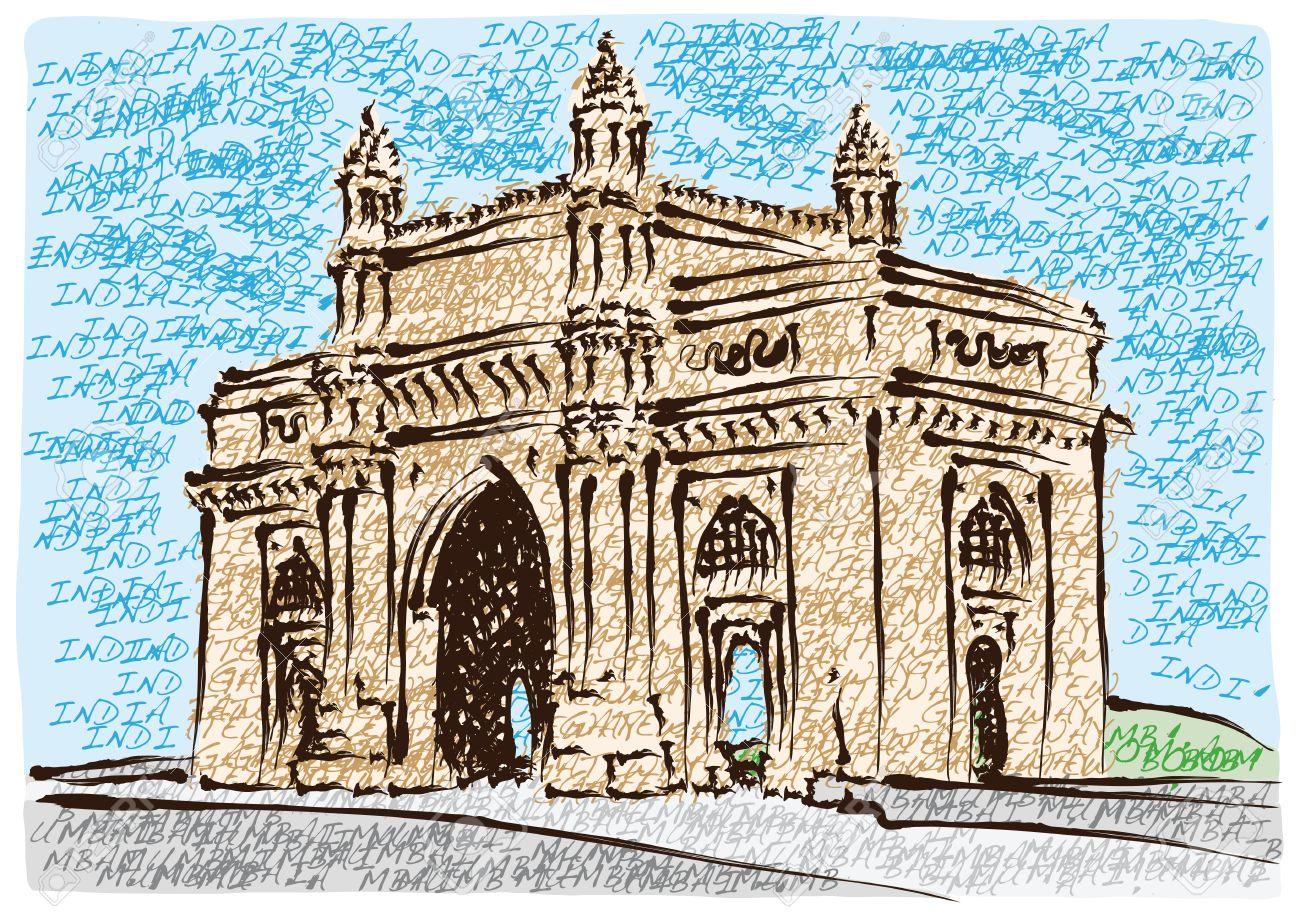 Mumbai Gateway Of India Royalty Free Cliparts, Vectors, And Stock.