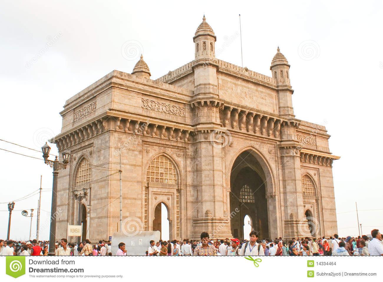 Gateway Of India, Mumbai Royalty Free Stock Photos.