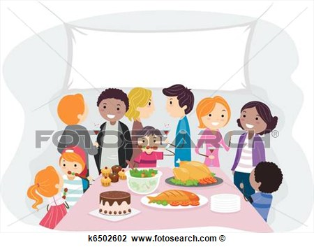 Gathering Clipart.