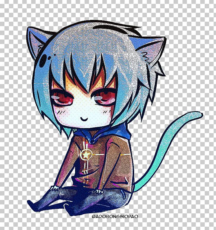 Cat Chibi Mangaka Drawing Anime PNG, Clipart, Animals, Anime.