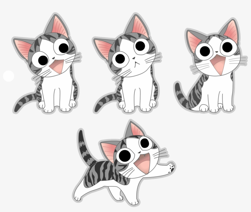 Gatos Anime Png.