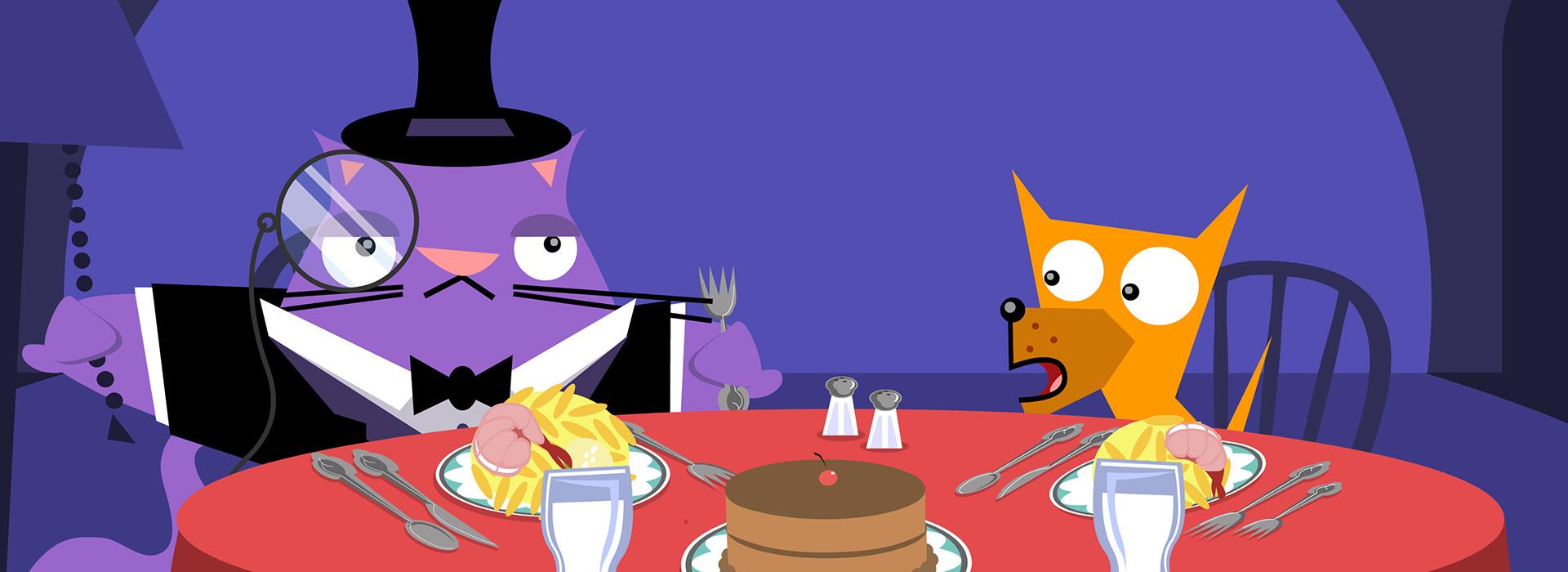 HBO: El Perro y El Gato: Homepage.