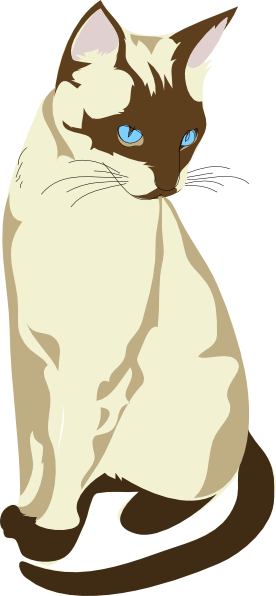 Gatto Cat 4 Clip Art at Clker.com.