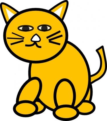 Large Cat Clipart.