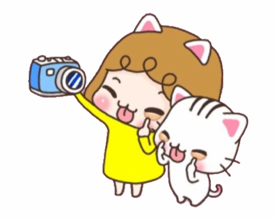 Gato selfie clipart clipart images gallery for free download.