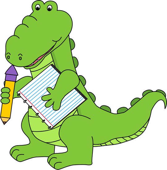 Free gator clipart.
