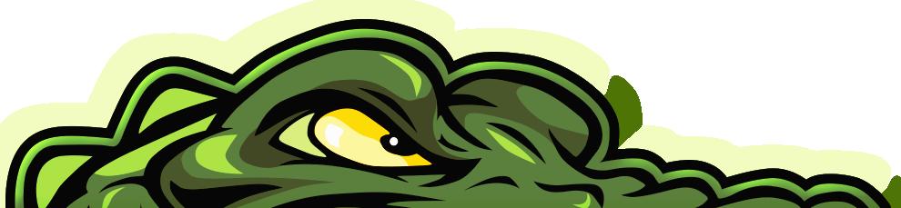 Gator Eyes LED Lights.