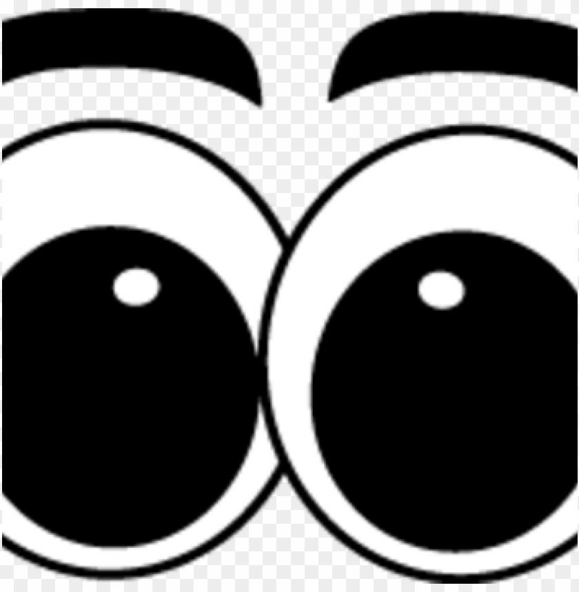 cartoon eyes clipart big cartoon eyes cartoon big eye PNG.