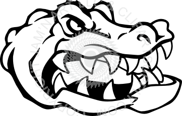 Gator head clip art clipart images gallery for free download.