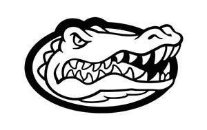 Details about Florida Gators Gator Head Logo Vinyl Decal , Car / Window  Sticker FREE Shipping.