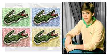 Izod Alligator Shirts.