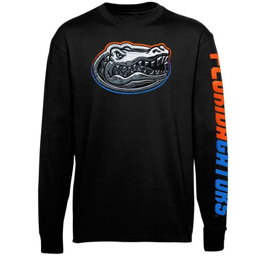 Florida Gators Chrome Logo Long Sleeve T.