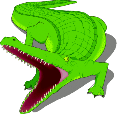 Free Alligator Clipart, 1 page of Public Domain Clip Art.