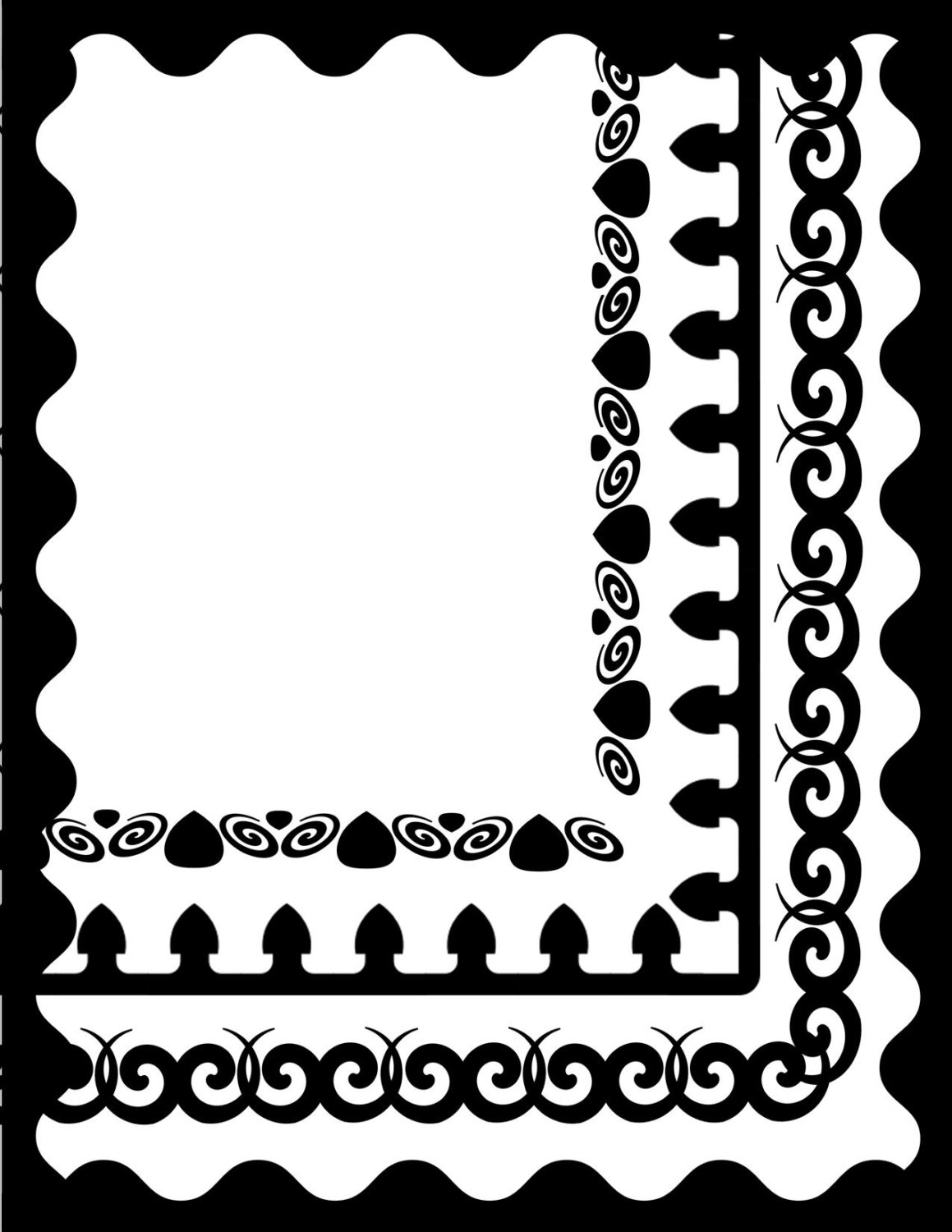 Gatsby Frame Clip Art free image.