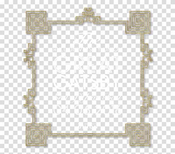 Frames Religion Rectangle Symbol, great gatsby logo.
