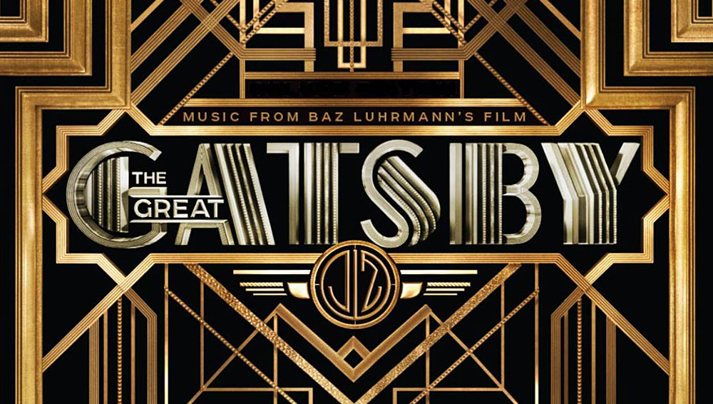 The Great Gatsby Font.
