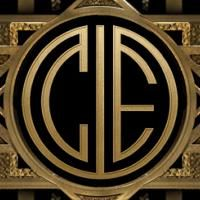 I created my own custom monogram with The Great Gatsby.