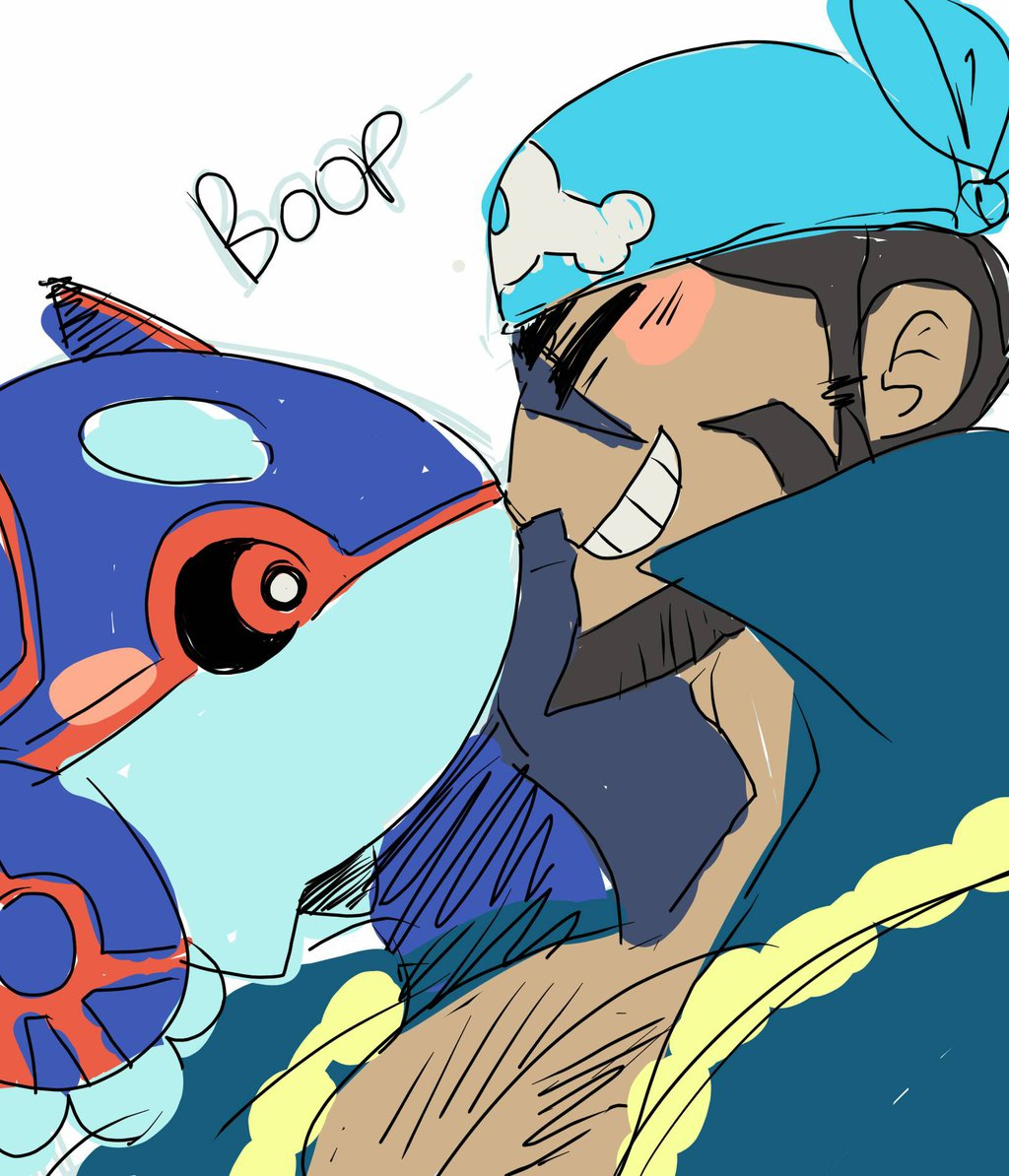 you gatta boop dat kyogre by mirchancey on DeviantArt.