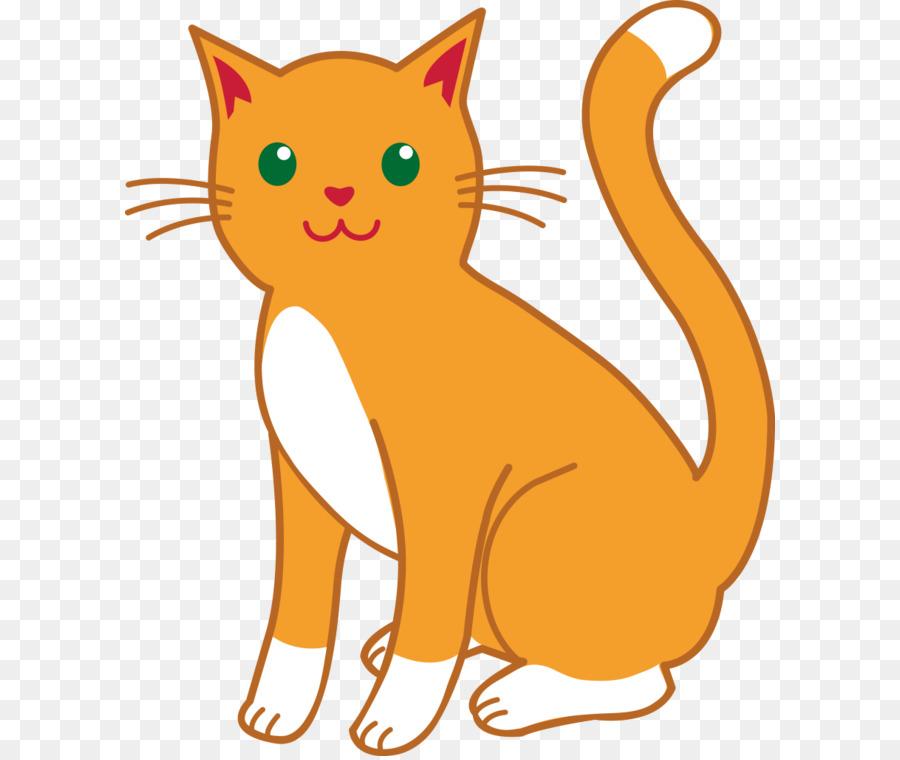 Gatto Siamese Gattino Cartoon Clip art.