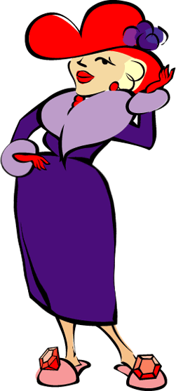 Red Hat Society Clip Art.