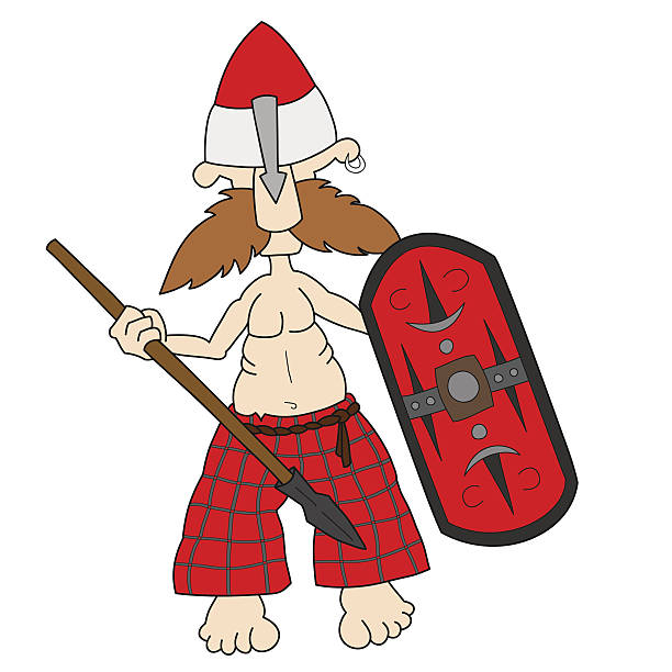 Gaul Warrior Clip Art, Vector Images & Illustrations.