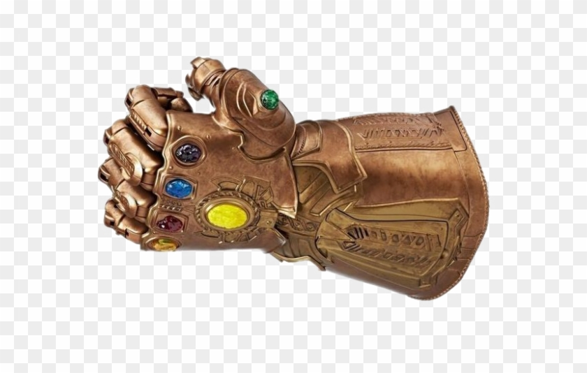 Thanos Infinity Stone Gauntlet Png File.