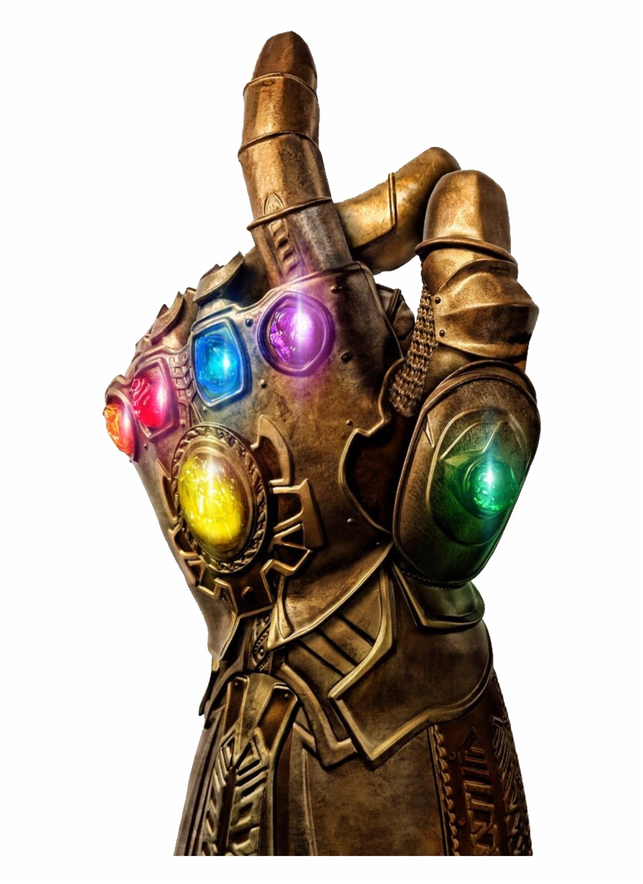 Thanos Gauntlet Clipart With A Transparent Background Free PNG.