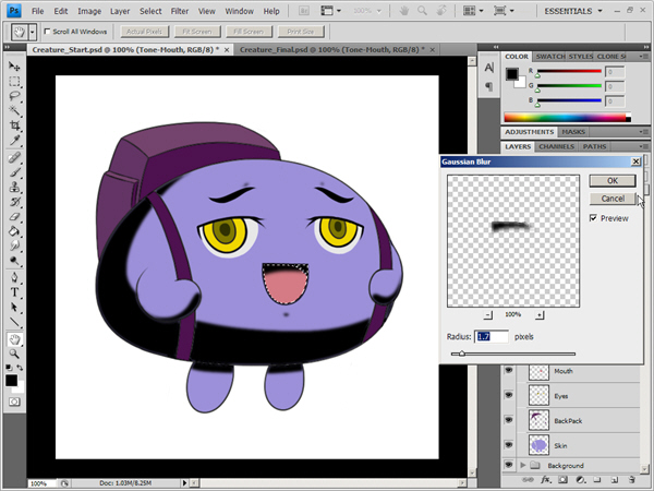 How to Get that Anime Look in Photoshop Using a Flexible Workflow.