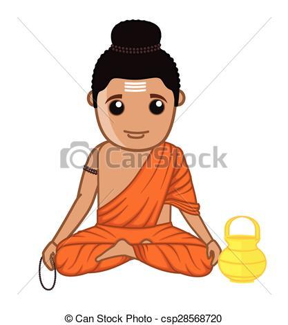 Gautam buddha Clipart Vector and Illustration. 9 Gautam buddha.
