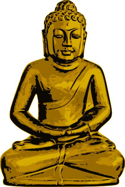 Golden Buddha Clip Art at Clker.com.
