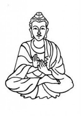Gautam buddha clipart.
